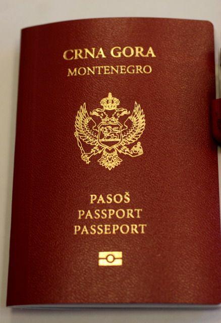 Паспорт черногории барышня крестьянка дно дубай