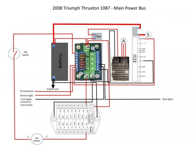 starter relay location moreover triumph daytona 600 wiring diagram