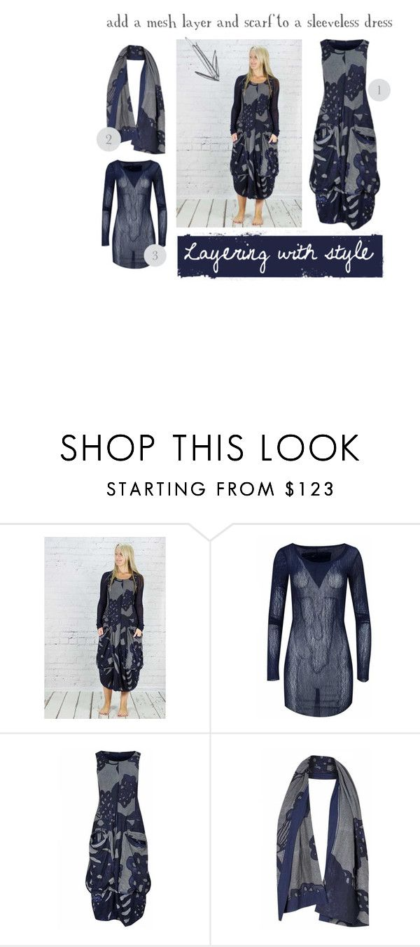 """""""Layering with style"""" by sandiedotstyle ❤ liked on Polyvore featuring Rundholz"""