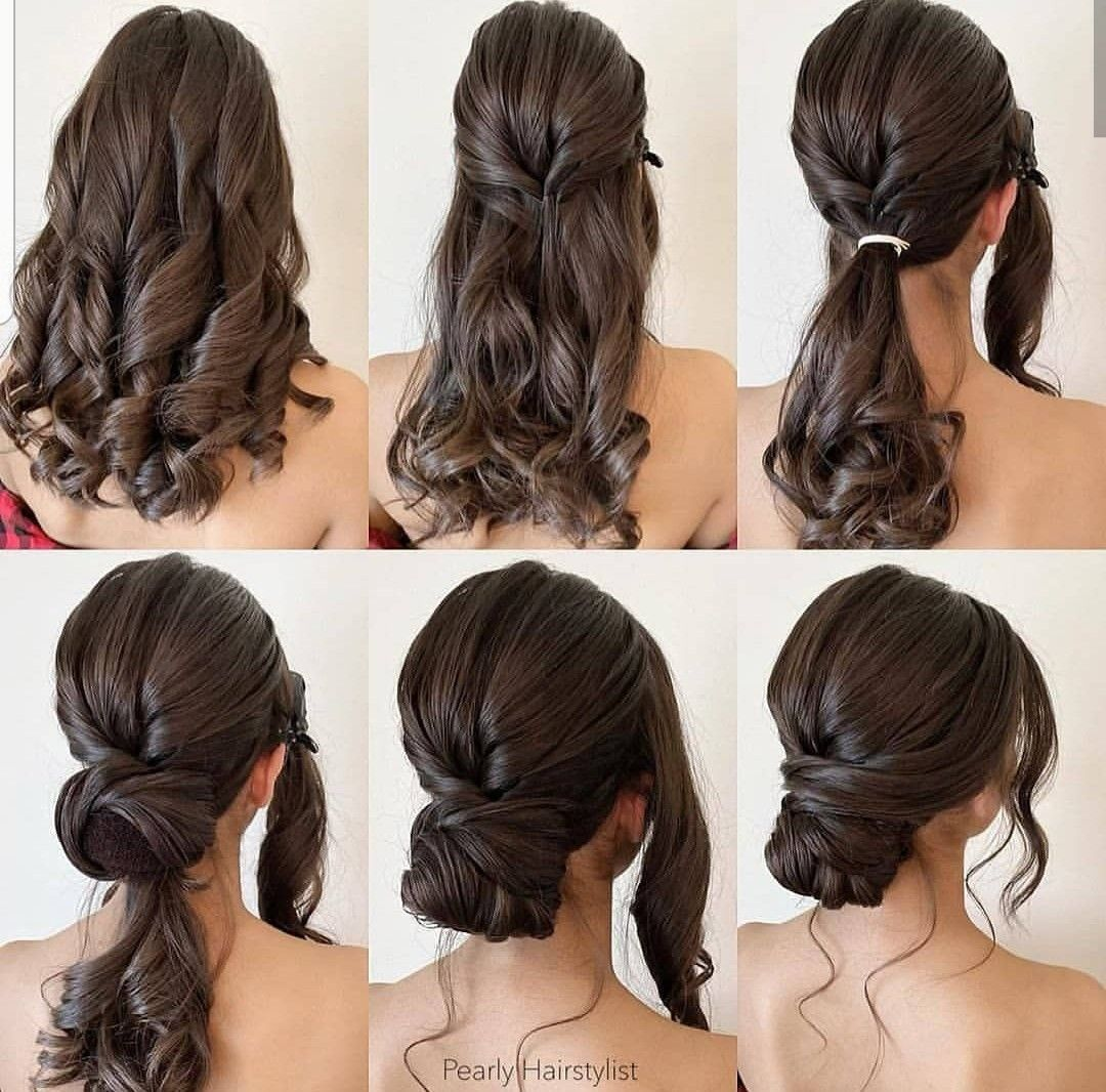 Pin By Samantha Strothers Paulson On Hair Envy Easy Hairstyles Hair Styles Long Hair Styles