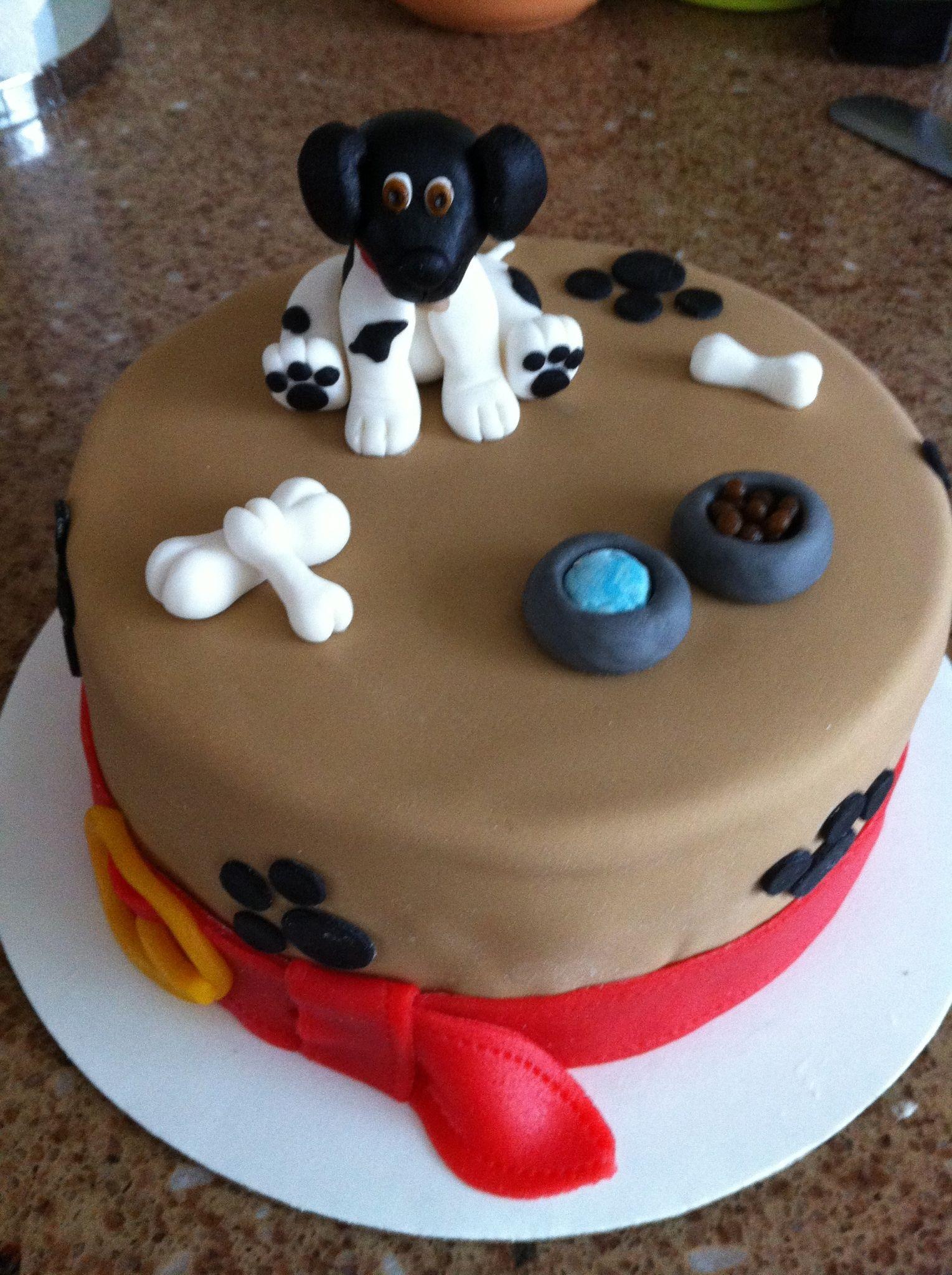 Taart Hond My Cakes Pinterest