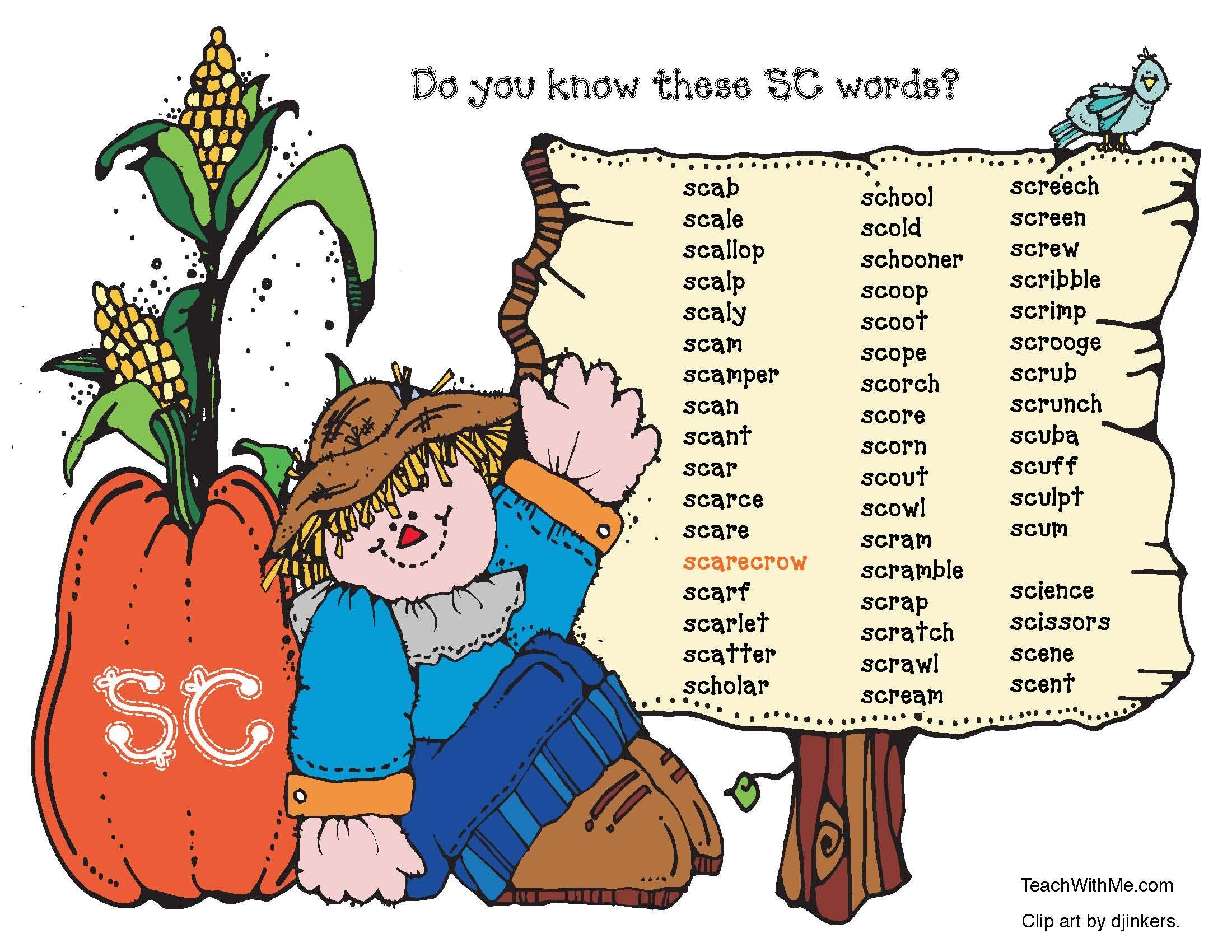 Scarecrow Sc Blend Activities