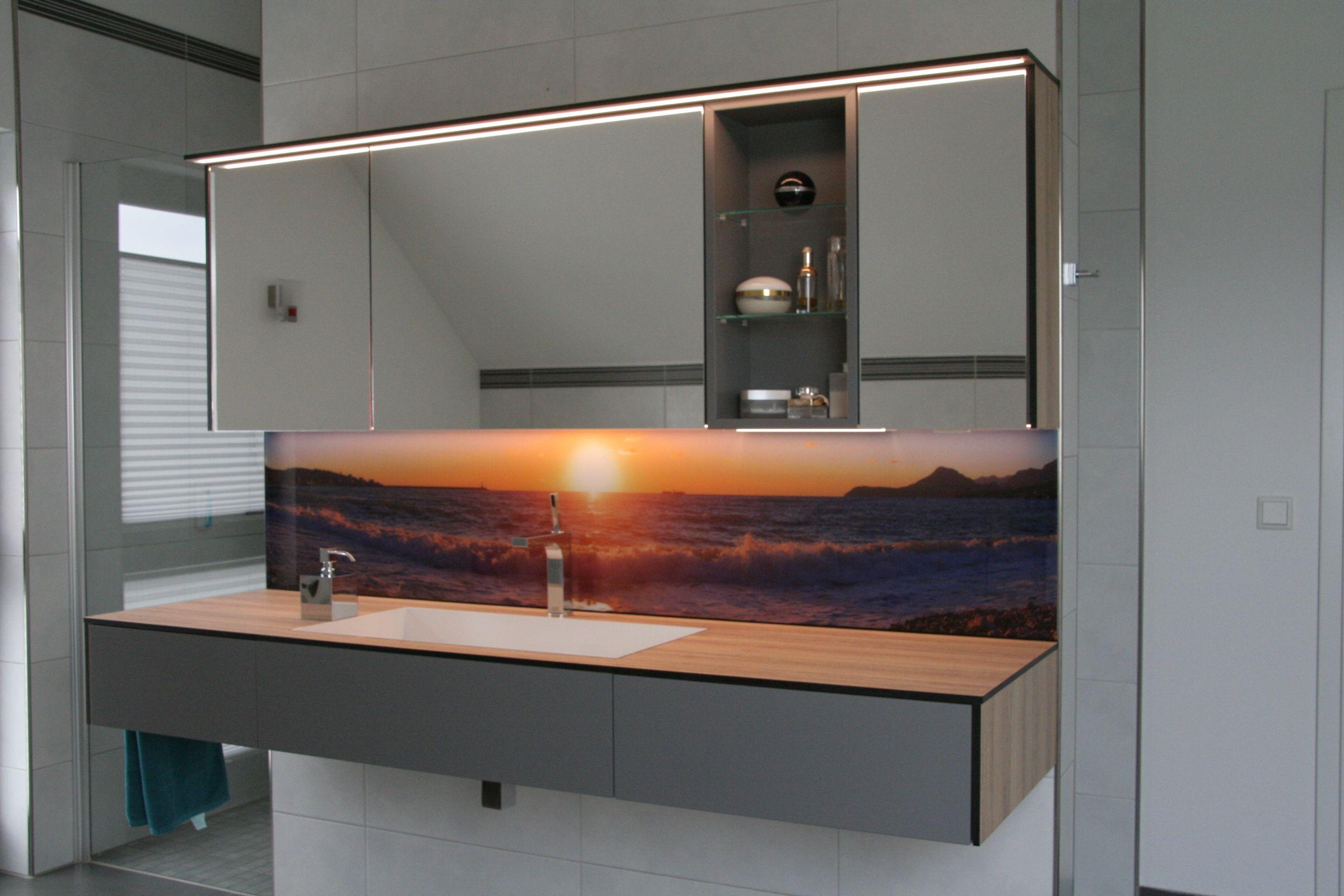 Badezimmer Ideen Waschtischunterschrank Mit Eingelassenem