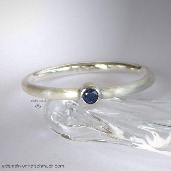 Saphir Ring von Brigitte Engels auf DaWanda.com