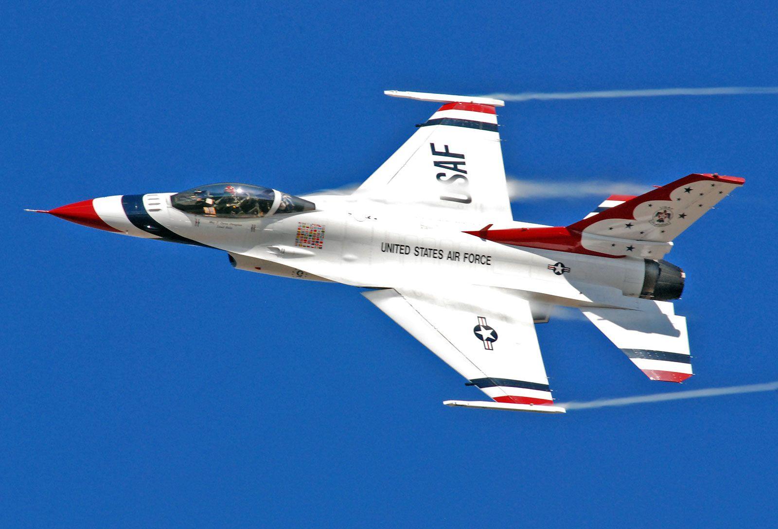U.S. Air Force Thunderbirds 戦闘機, アメリカ空軍, 空軍