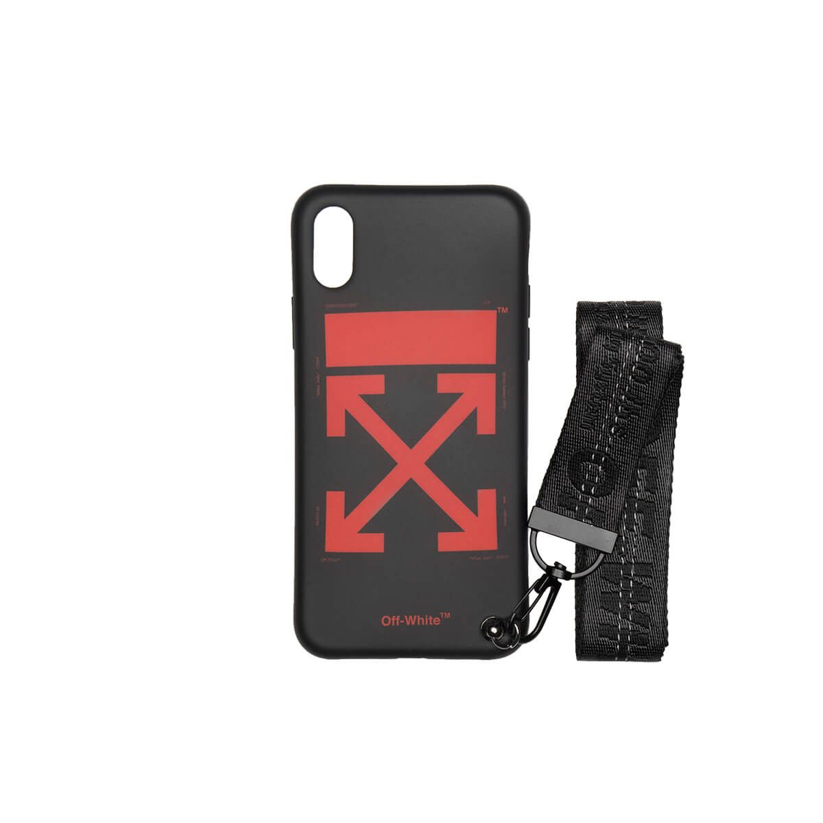 4f063192ca45 iPhone X Arrow Strap case from the Pre S S2019 Off-White c