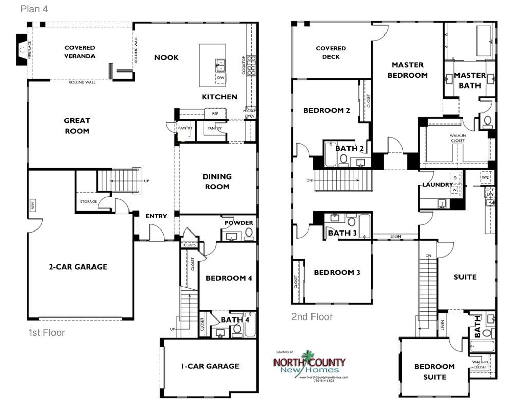 Floor Plans Lanai Ii New Homes In Carlsbad North County New Homes Floor Plans New House Plans Architectural Design House Plans