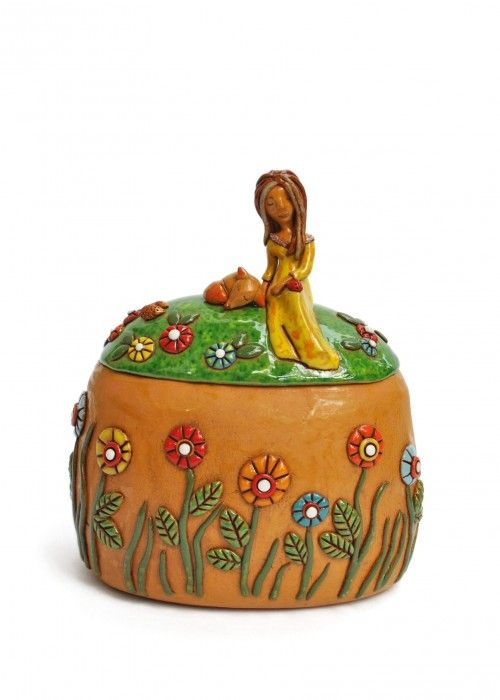 Pin By Www Onlyart Eu On Unique Ceramic Artworks Ceramic Jewelry Box Gifts For Nature Lovers Unique Ceramics