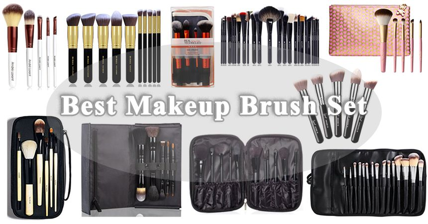 Finding The Best Makeup Brush Set Isn T Easy But We Ve Reviewed 10 Top Rated Sets To Find Out Which One Is Th Best Makeup Products Makeup Brush Set Makeup Kit