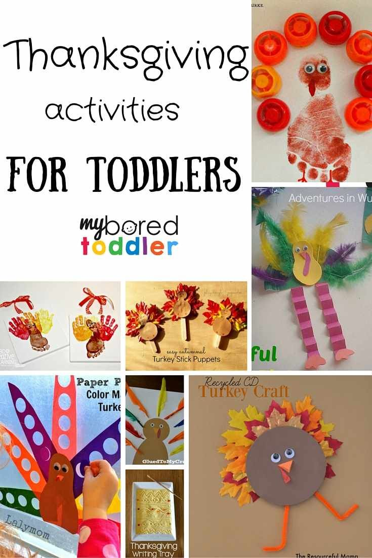 Thanksgiving Crafts for Toddlers