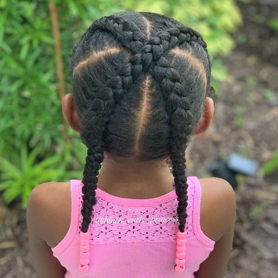 Natural Hair Kids On Instagram Need A Satin Lined Winter In 2020 Kids Hairstyles Natural Hairstyles For Kids Hair Styles