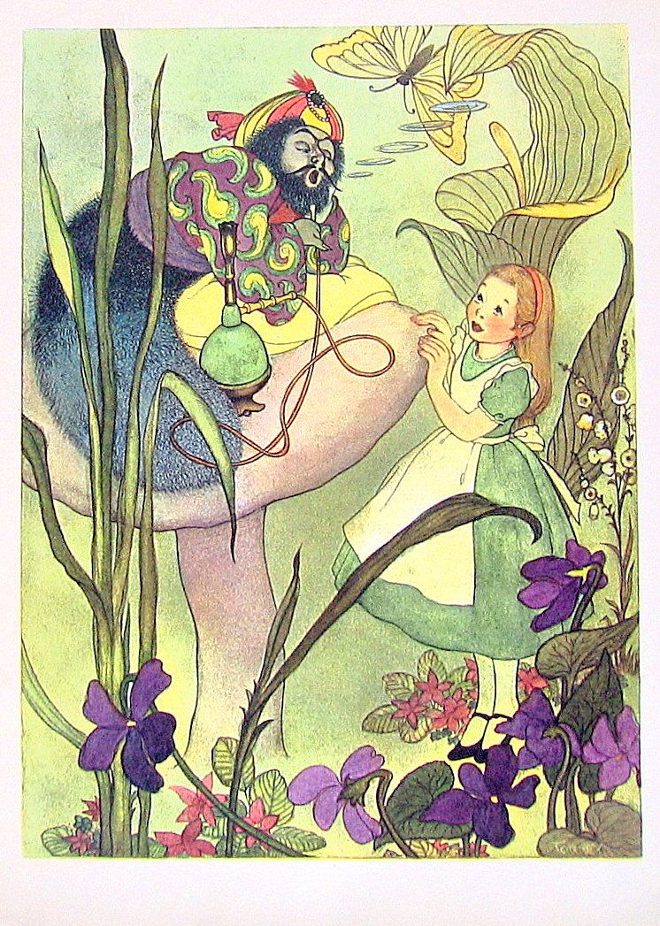 Alice in wonderland short story-8388