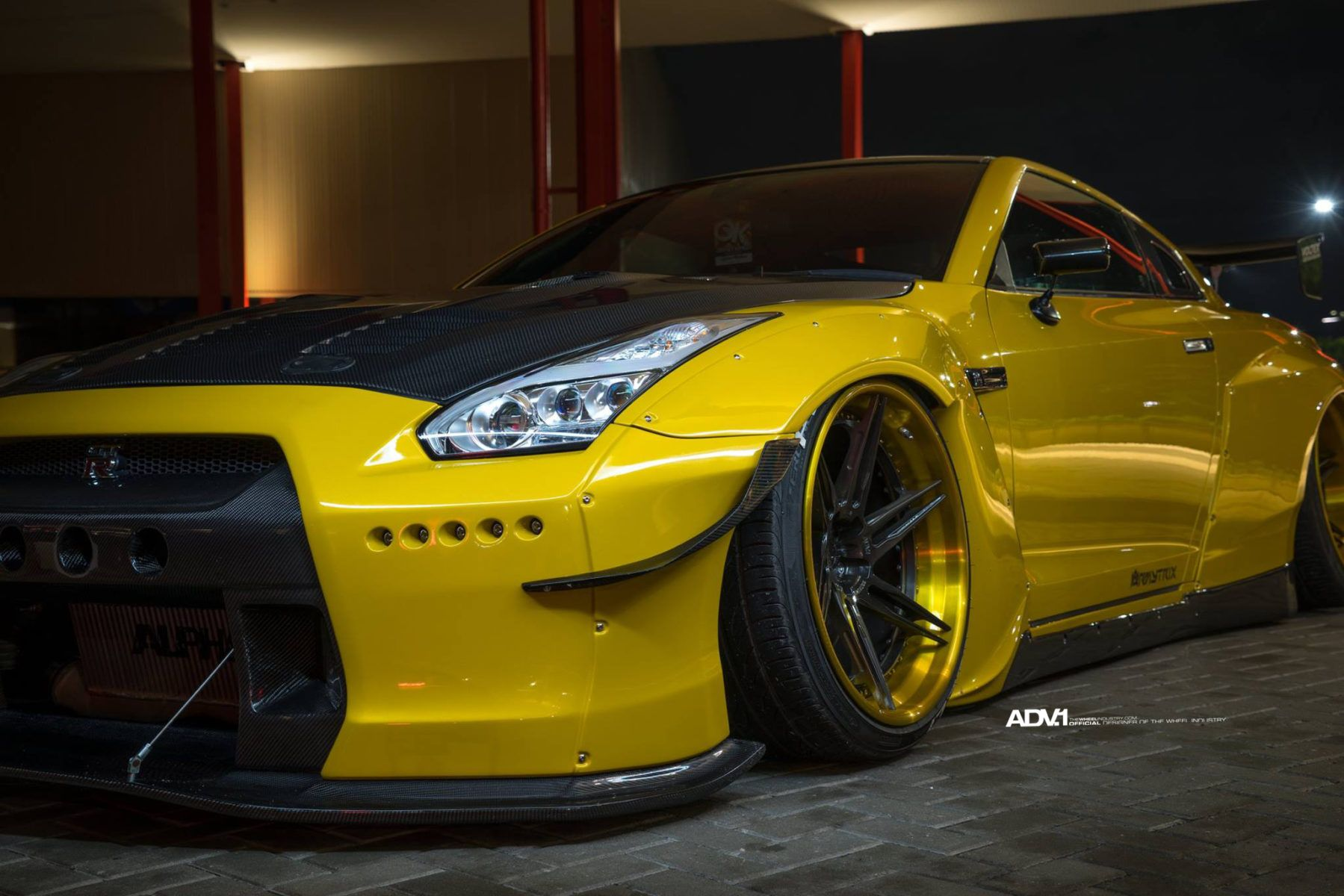 A Cool Rocket Bunny Nissan GT-R Is Here
