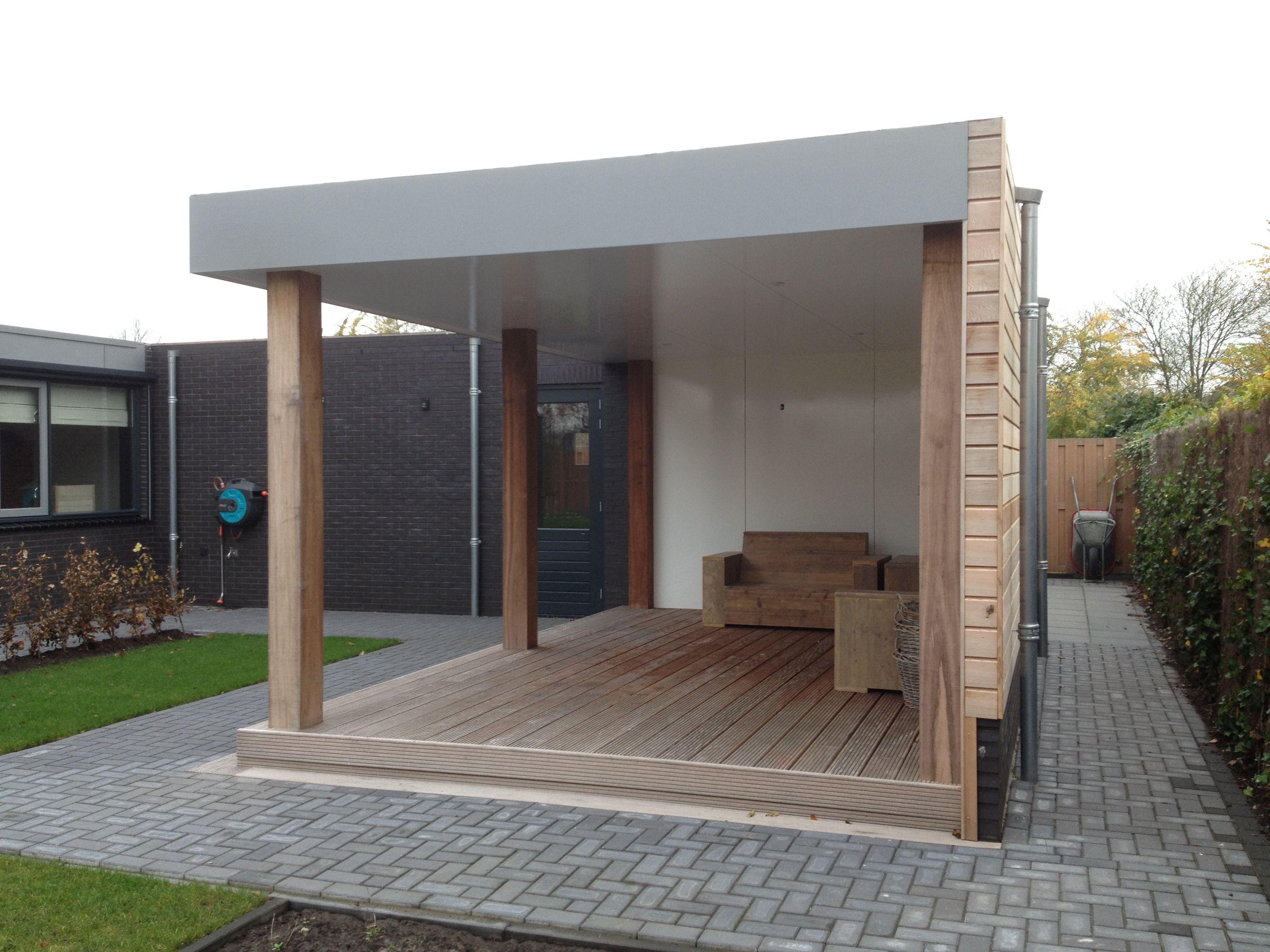 Garage Met Overkapping : Afbeeldingsresultaat voor overkapping aan garage tuin