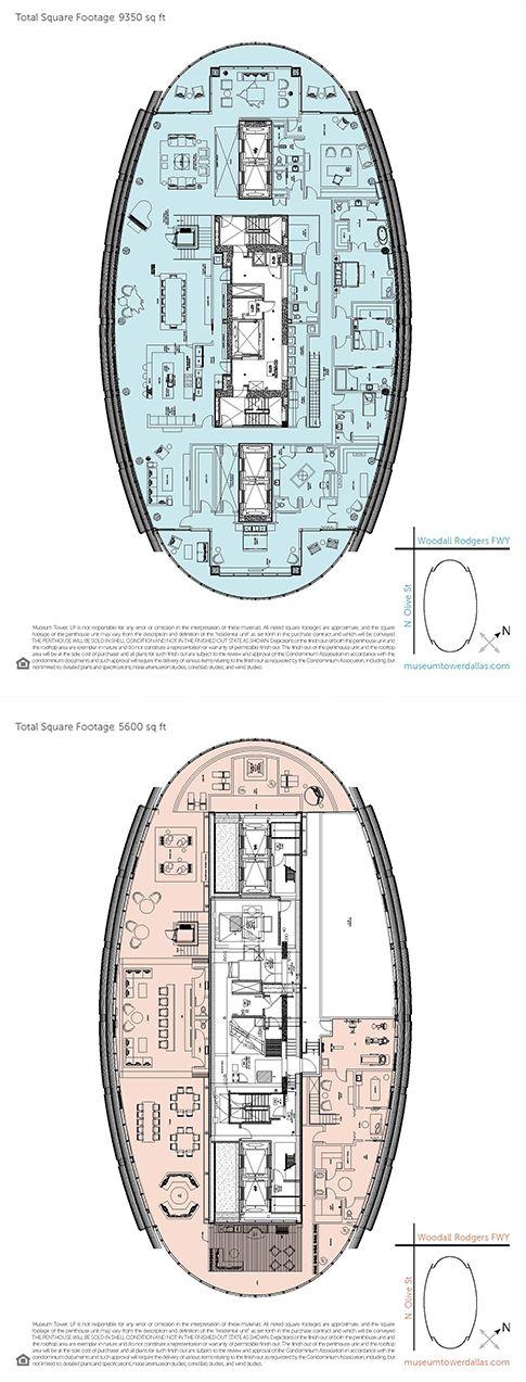 High Rise Living Dallas Luxury Floor Plans Condo Floor Plans Apartment Floor Plan