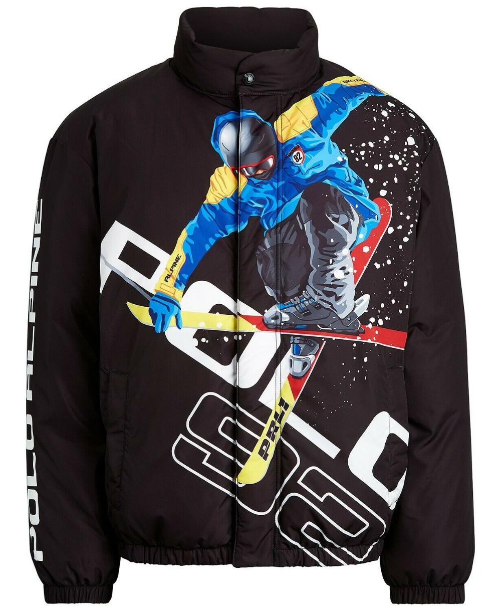 Polo Ralph Lauren Alpine Ski 92 Downhill Skier Down Jacket