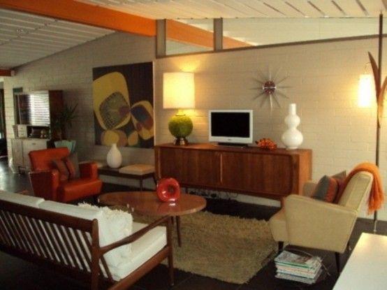 26 Modern Mid Century Living Room Design Ideas In