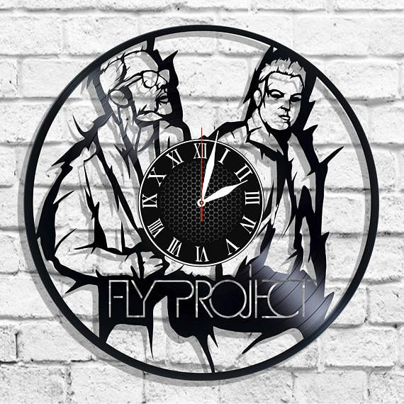 fly project band desgin wall clock fly project wall poster