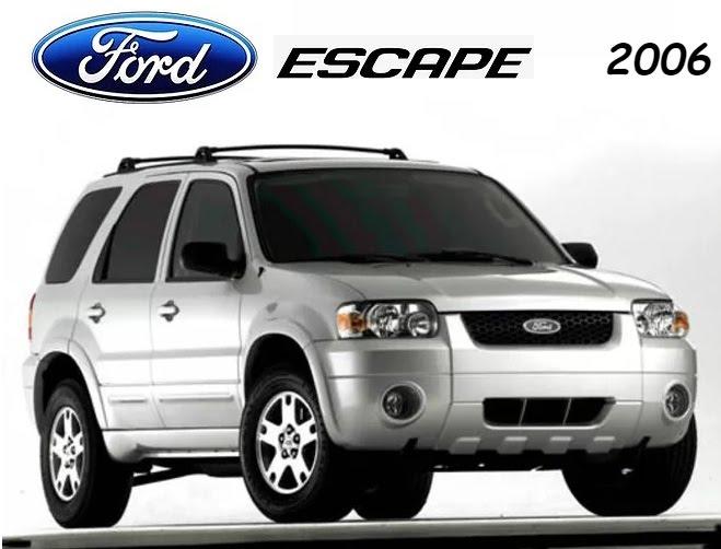 Ford Escape 2006 Repair Manual Ford Escape Ford Repair Manuals