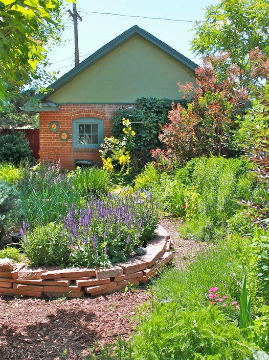 Rocky Mountain style English garden in a Denver ... on Mountain Backyard Ideas id=82741