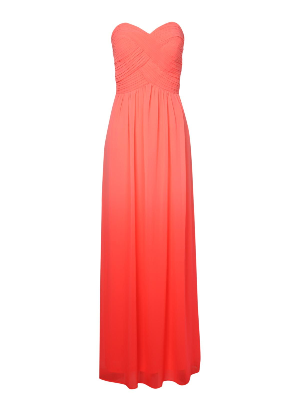 ombre pleated maxi dress - Jane Norman