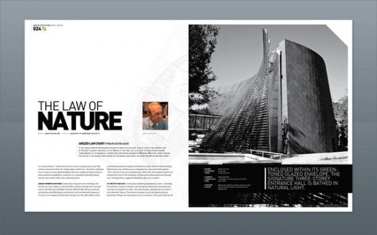 36 stunning magazine and publication layouts for your for D architecture magazine
