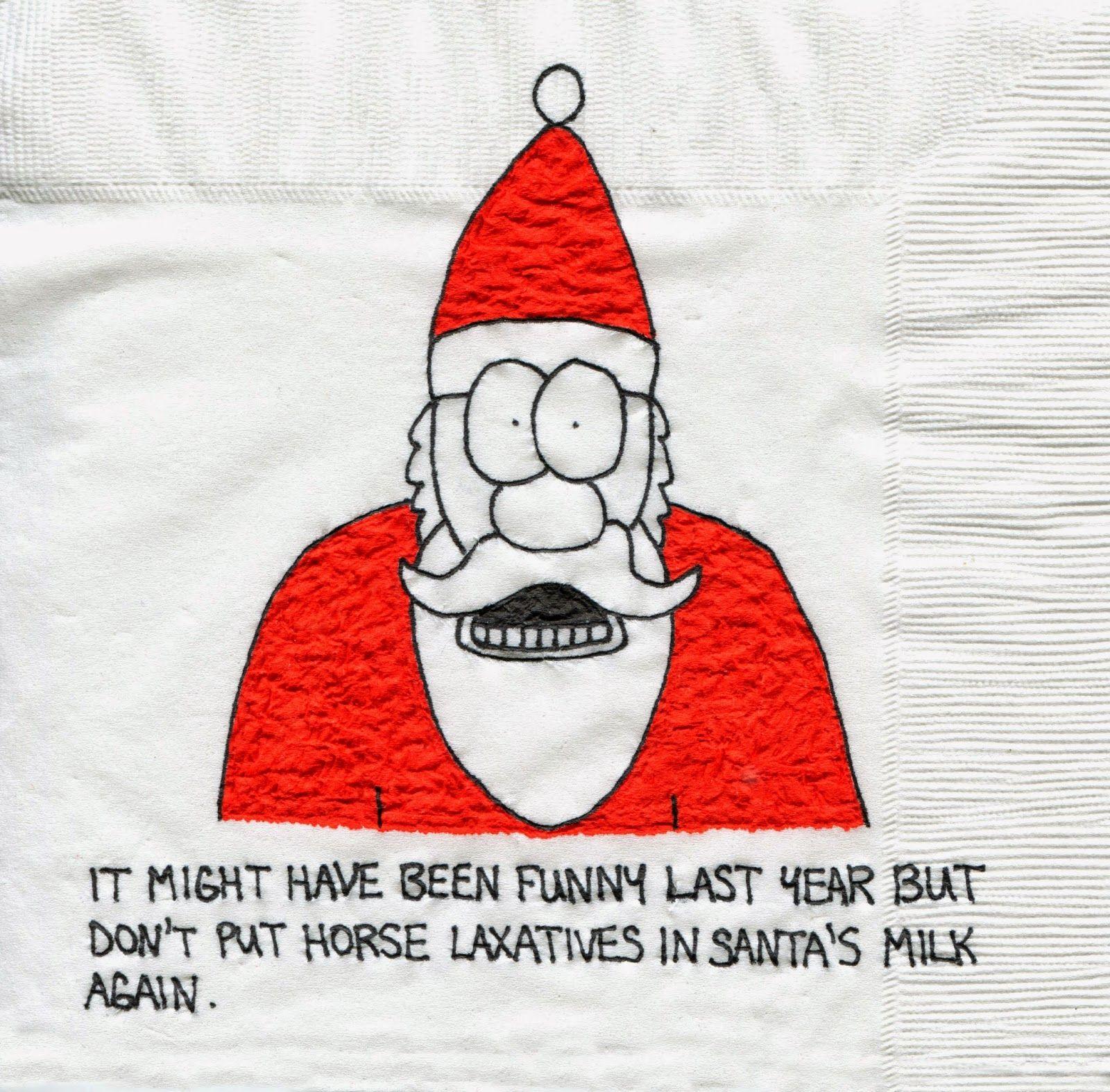 Christmas Napkin-y Countdown... 7