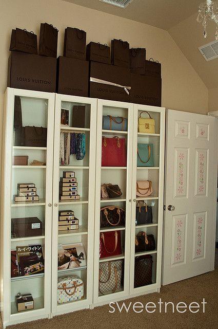 Dsc 1494 Purse Storage Ikea Pax Wardrobe Wardrobe Storage