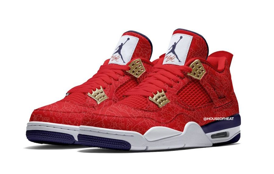 free shipping f49f7 7d2b2 Air Jordan 4 FIBA Gym Red CI1184-617 Release Date ...