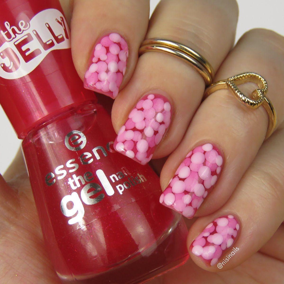 Pond Nails Einfaches Nageldesign Mit Essence Jelly Nagellack