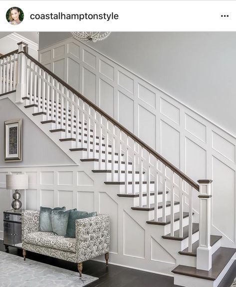 15 Top Raised Ranch Interior Design Ideas To Steal: Super Interior Stairs Staircase Makeover Wainscoting 46