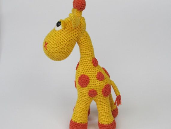 Giraffe Neli Amigurumi Crochet Pattern / PDF by DioneDesign