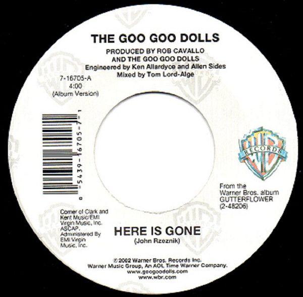 The Goo Goo Dolls Here Is Gone Vinyl At Discogs Goo Goo Dolls Dolls Goo