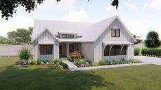 1 Story Modern Farmhouse Plan