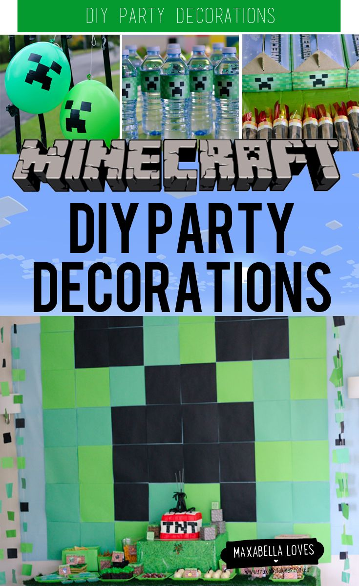 My Son S Minecraft Party Was An Absolute Blast For The Full Story