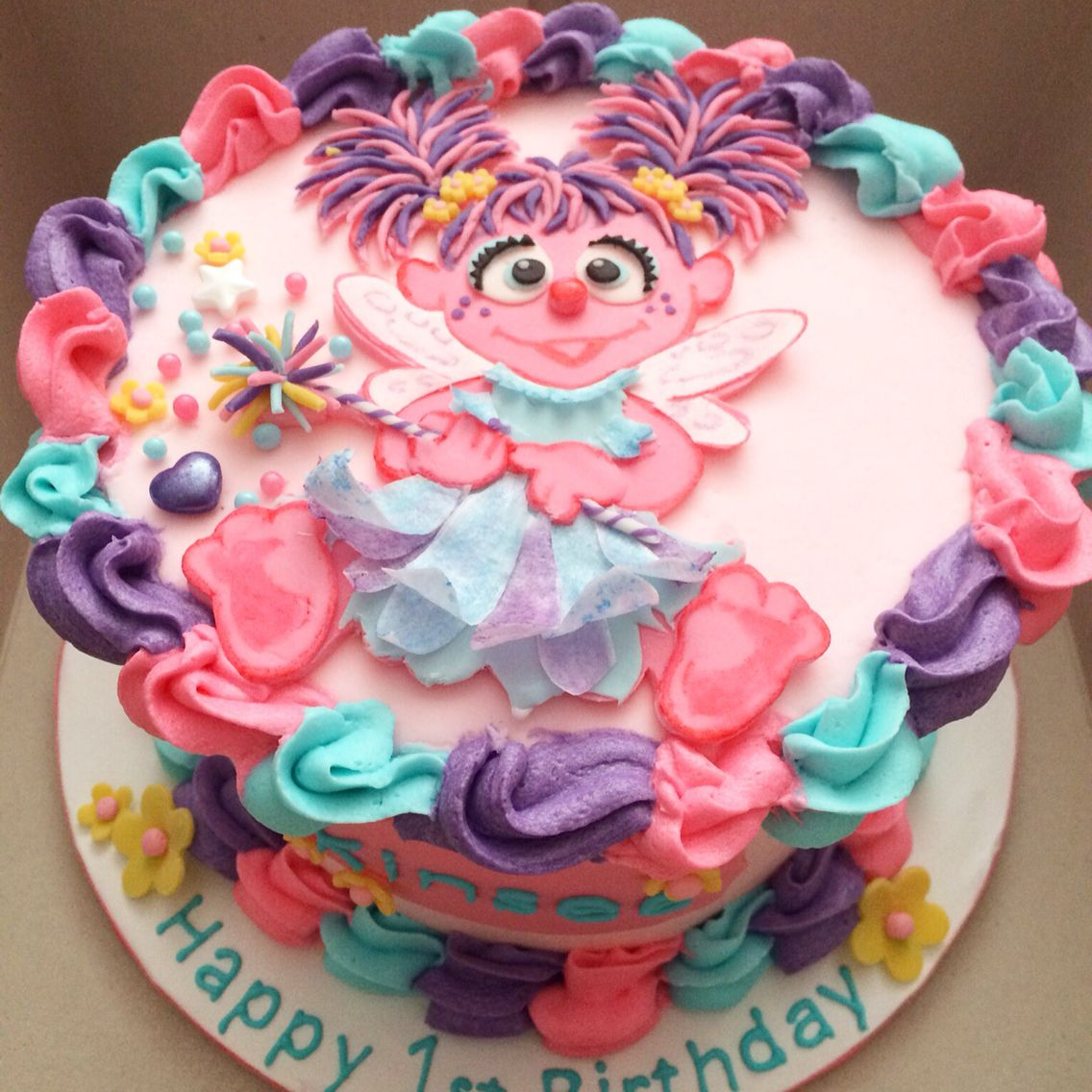 Abby Cadabby Party Decorations 17 Best Images About Girl 1st Birthday Ideas On Pinterest