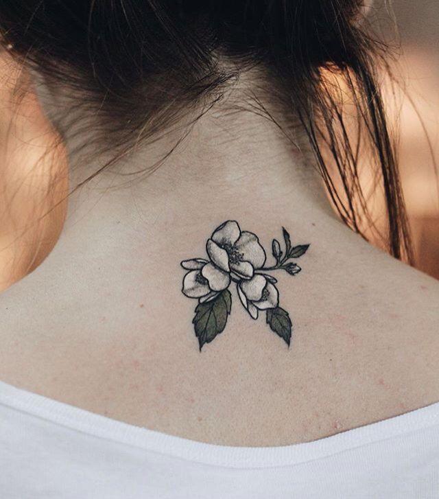 Tiny flower white ink delicate feminine tattoo creative endeavors tiny flower white ink delicate feminine tattoo mightylinksfo