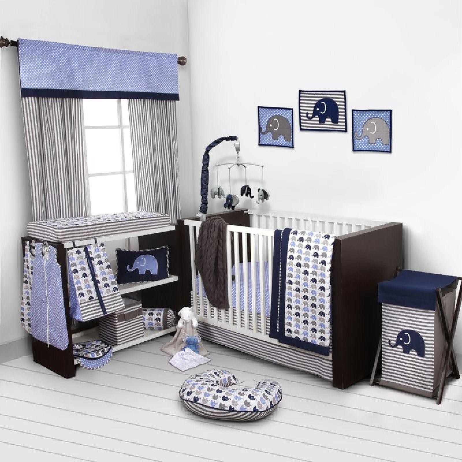 Baby Crib Nursery Bedding Set Boy Girl Quilt Comforter Diaper