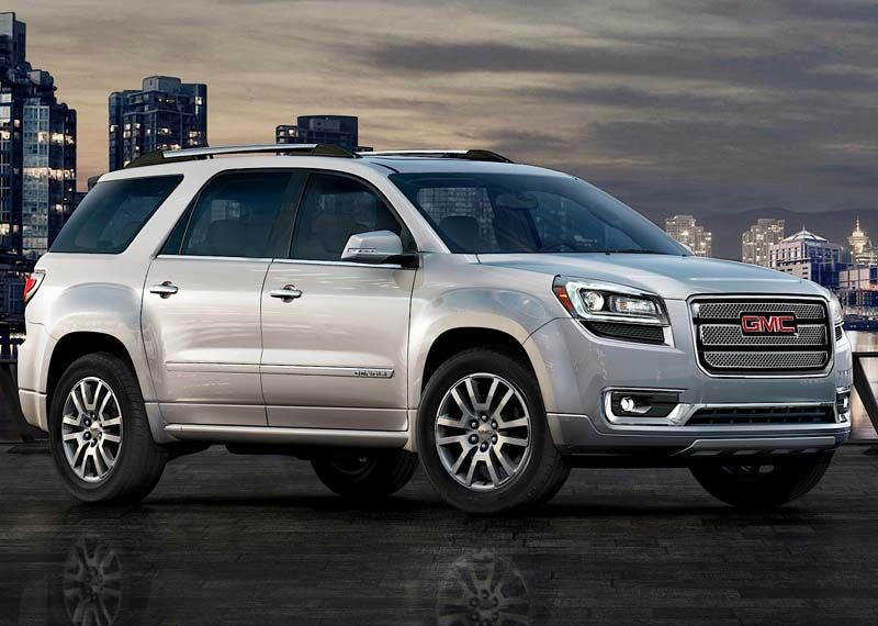 2017 Gmc Acadia Denali Exterior Image 01 Mini Van Gmc Vehicles Suv