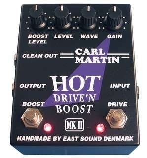 #Carl Martin #Hot Drive'N Boost MKII #Effects #Pedals