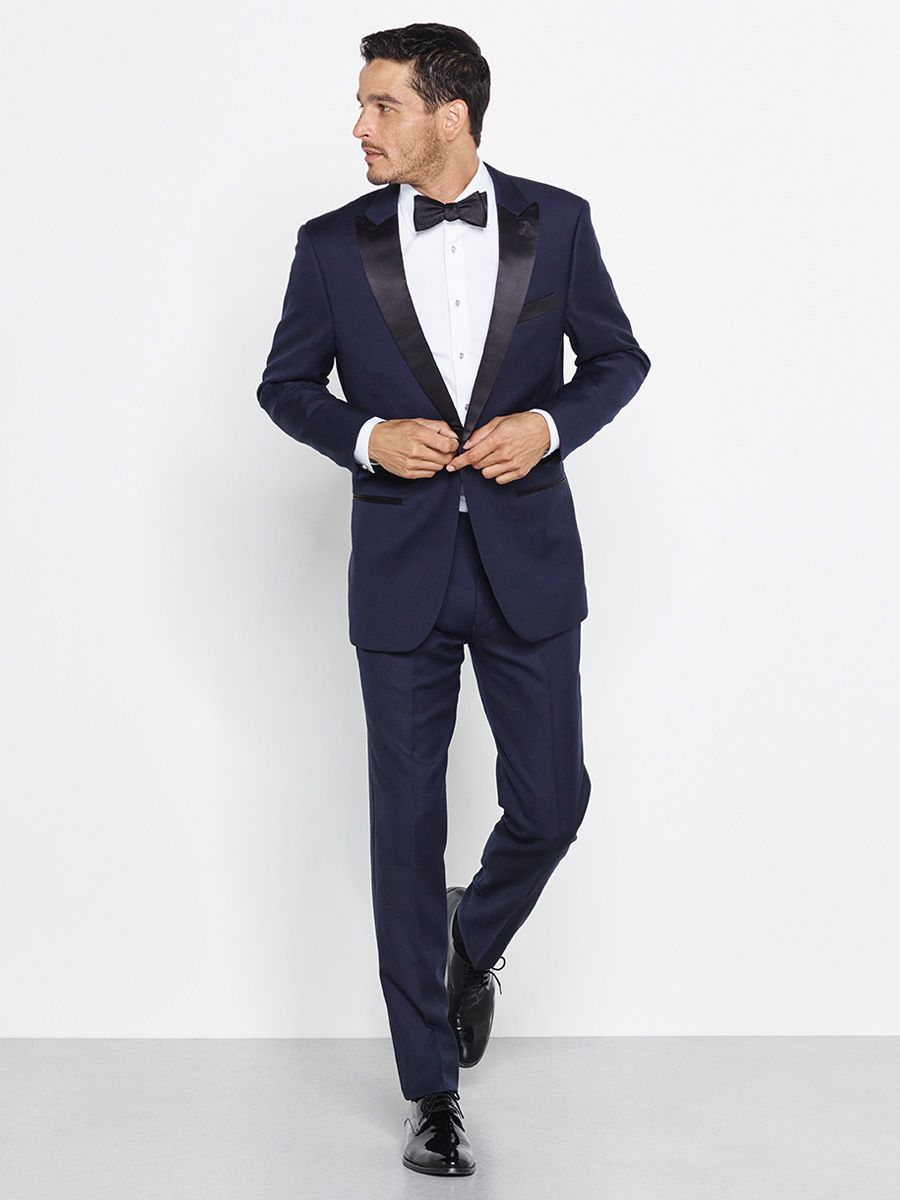 Midnight Blue Tuxedo Blue Tuxedos Navy Blue Tuxedos Wedding Suits Men