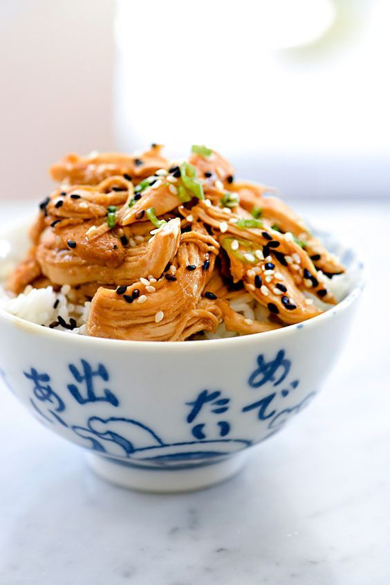 Slow Cooker Teriyaki Chicken With I Heart Naptime (foodiecrush)