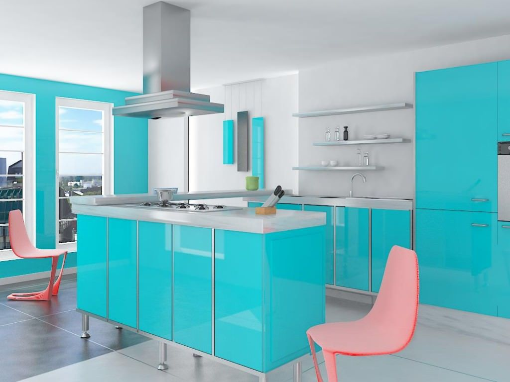 Kitchen: Best Baby Blue Kitchen Paint Color Ideas Small Kitchen ...