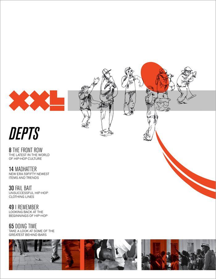 Hip Hopmagazine Table Of Contents Xxl Hip Hop Magazine Design