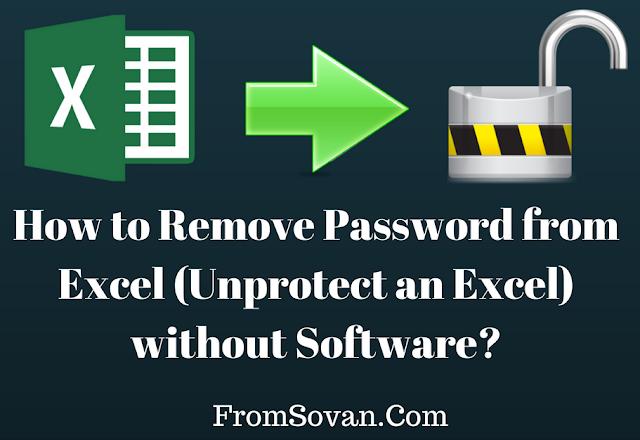 36+ Excel 2016 worksheet password remover Images