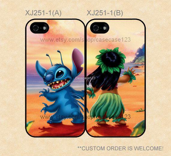 XJ2511 Disney Stitch and Lilo Best Friends by casecase123