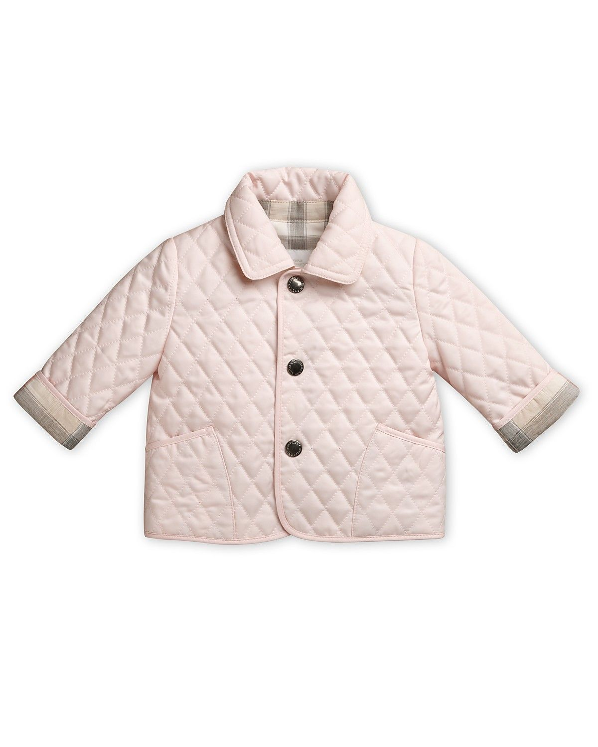 Burberry Infant Girls' Colin Quilted Jacket – Sizes 6 24