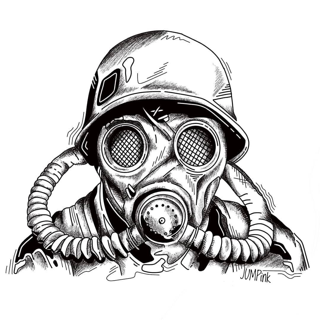 Pin By David Lewis On Gas Masks In 2020 Gas Mask Art Gas Mask Drawing Tattoo Design Drawings