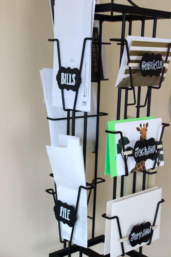 Semi Diy Card Display Rack Organizer Display Cards Greeting Card Display Diy Organisation