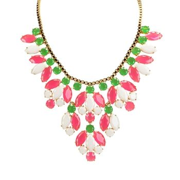 kate spade new york Marquee Statement Necklace. SOO Preppy..would be great with Lilly attire.